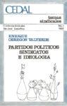 Partidos políticos, sindicatos e ideología
