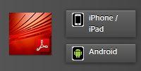 App para dispositivos móviles Adobe Reader