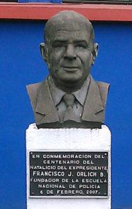 Busto de Francisco J. Orlich