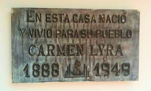 María Isabel Carvajal Quesada (Carmen Lyra)