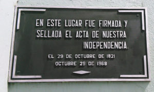 Independencia Cosa Rica