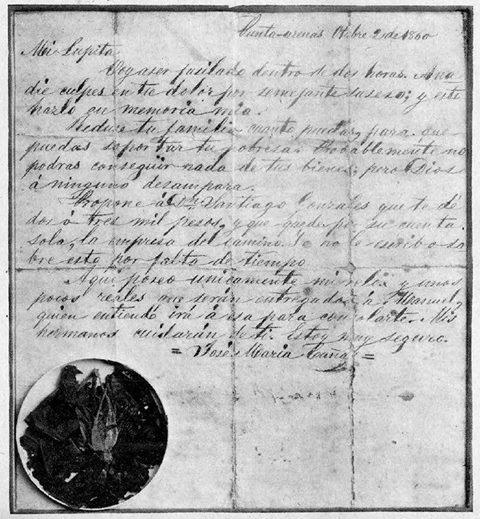 Carta General Cañas